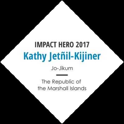 Earth Company Impact Hero 2017 Kathy Jetnil-Kijiner