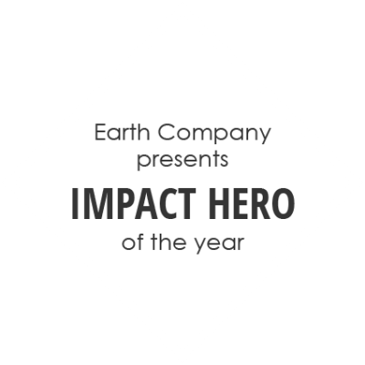 Earth Company Impact Hero of the Year Diamond Graphic